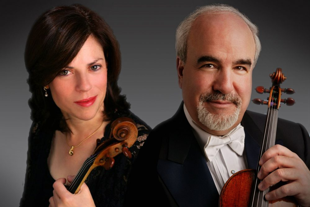 Karen Dreyfus and Glenn Dicterow